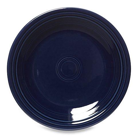 "Fiesta Dinner Plate in Cobalt Blue, 10.5"" diameter"