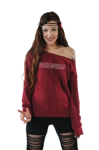 sweater Stampa Om Grigio Bianco Rosso Rosso Scollatura 3elfen Con Magia felpa Blu Bianco Donna Maglione Barca Nero 8C7qBPaO