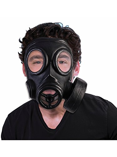 Forum Novelties Adult's Bio-Hazard 1940s Halloween Costume Gas Mask Gasmask Costume Accessory]()
