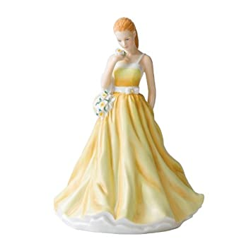 Royal Doulton Flower of the Month March Jonquil Figurine