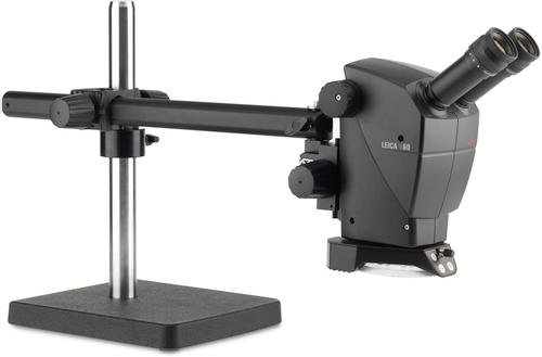 Leica Microsystems 10450310 A60 S Stereo Microscope with Swing Arm Stand by Leica Microsystems