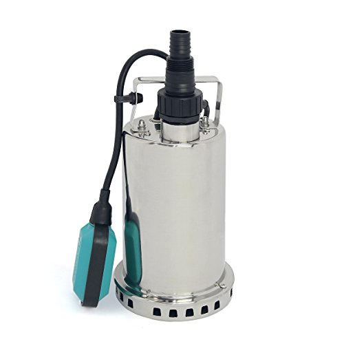 1 HP Stainless Steel Submersible Pump, Sump Pump