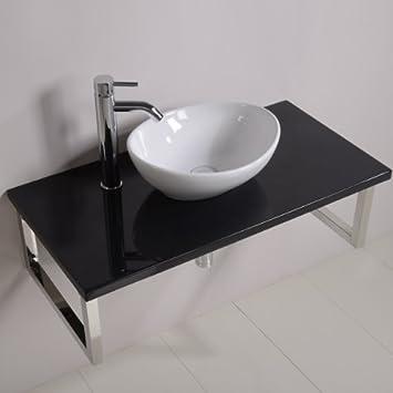 900 Meuble lavabo avec vasque pour salle de bain toilettes ...