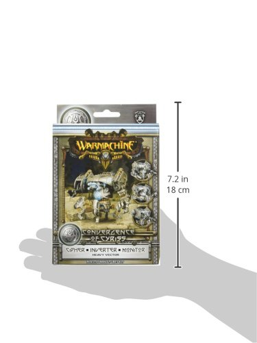 Privateer Press - Warmachine - Convergence: Cipher/Inverter/Monitor Vector Model Kit 5