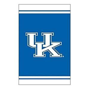 """NCAA University of Kentucky Wildcats Fiber Optic Outdoor Garden Flag 18"""" x 12.5"""""""