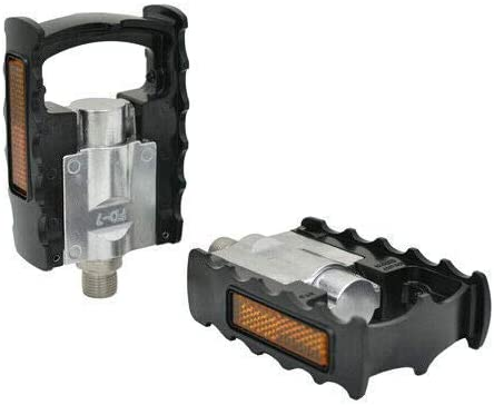 MKS FD-7 Alloy Folding Platform Pedal 9/16 inch Black MKS1841 ...