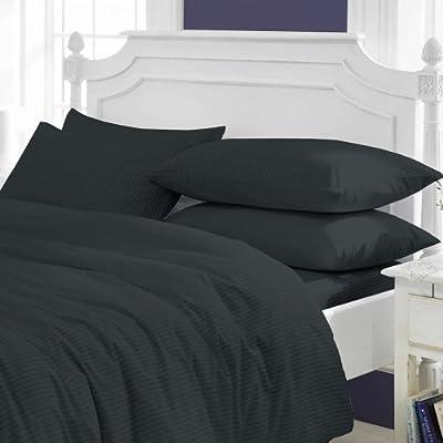 Luxus Bettwäsche 600 Tc 100 ägyptische Baumwolle Stoff Streifen