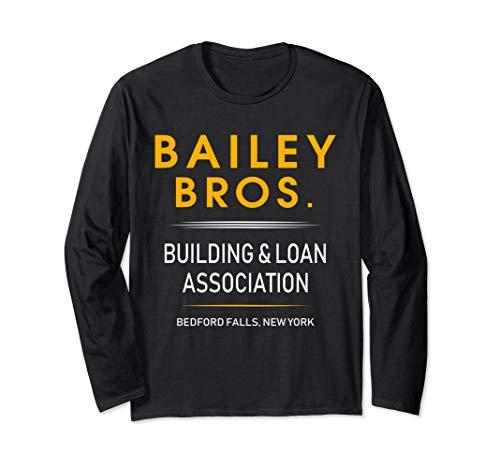 It's a Wonderful Life Bailey Bros long sleeve LS T-shirt