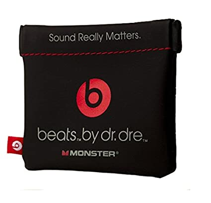 Amazon.com  In-Ear Beats Earphone Black Carrying Pouch for Dr.Dre ... 65f592d253
