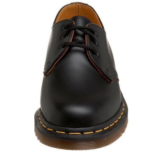Dr. Martens 12877001 - Zapatos de cordones de cuero unisex Negro