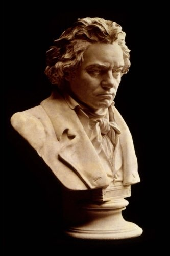Bust of Ludwig Van Beethoven Musical Composer Journal: 150 Page Lined Notebook/Diary Beethoven Ludwig Van Bust