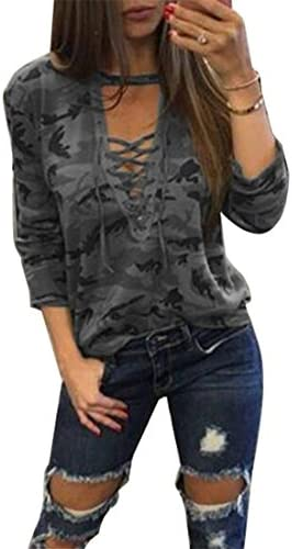 4PING Women's Long Sleeve Camouflage Print...