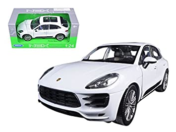 Welly 24047 Porsche Macan Turbo White 1/24 Diecast Model Car