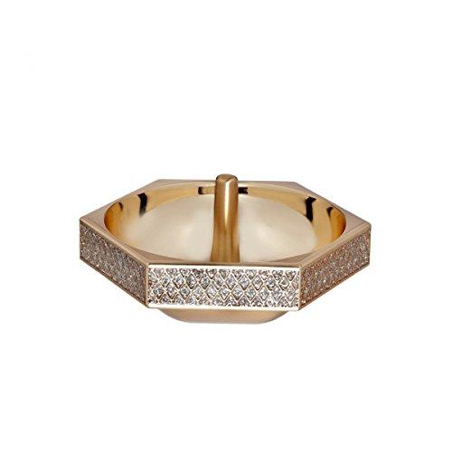 Waterford Lismore Diamond Ring Holder (Ring Crystal Holder Round Waterford)