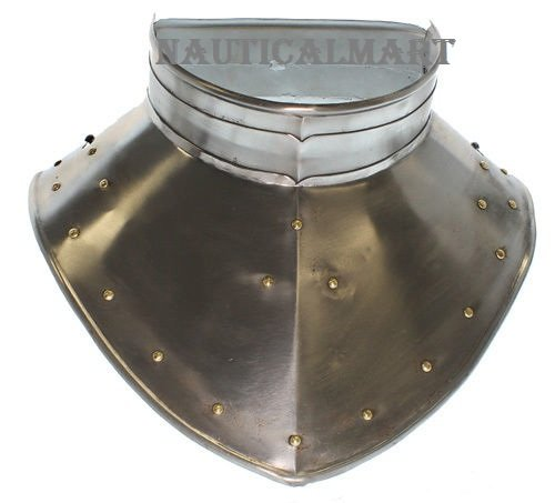MEDIEVAL KNIGHT GORGET NECK ARMOR - ONE SIZE FIT ALL BY NAUTICALMART by NAUTICALMART