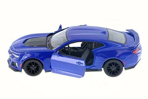 New Model Camaro (2017 Chevrolet Camaro ZL1, Blue - Kinsmart 5399D - 1/38 Scale Diecast Model Toy Car (Brand New but NO BOX))
