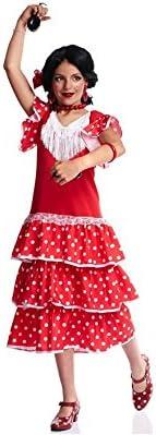 Disfraz de Sevillana con Lunares para niña: Amazon.es: Juguetes y ...