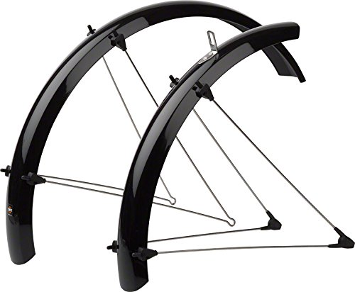 SKS 11047 BLACK B53 Fender Set for Folding/Recumbant Bike, 20-Inch