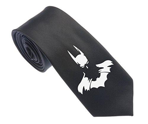Uyoung Cool Batman Face Black Men's Woven 2.5