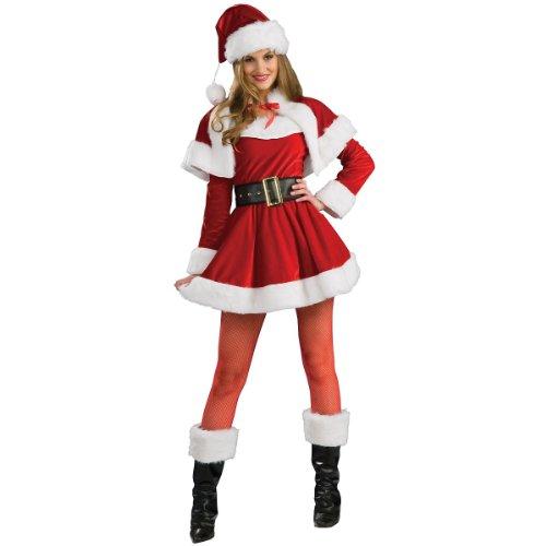 Rubie's Women's Santa's Helper Costume, Multi, Medium -