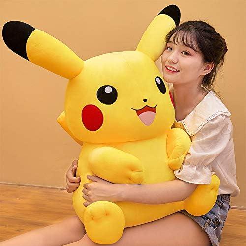 Pikachu Doll Pluche Toy Verjaardag Children's Day Gift Doll Bikachu Sleeping Pillow Rag Doll Girl 95cm,42cm