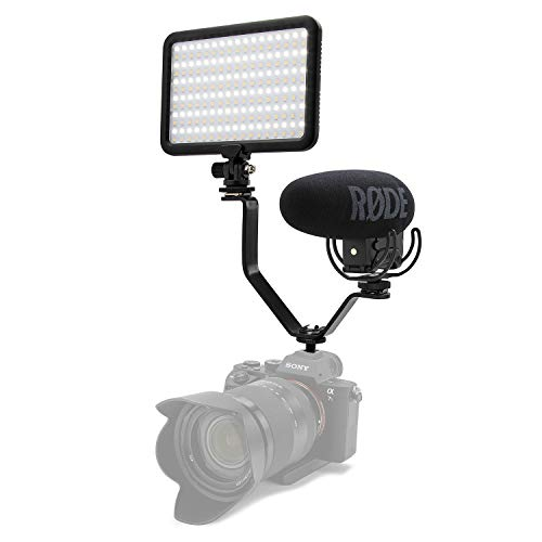 (Rode VideoMic Pro+ Microphone with Focus LED Video Light and Bracket)