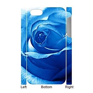 3D Bumper Plastic Case Of Colorful Rose Custom-buitd Case For Iphone 4/4S Cover by ruishername