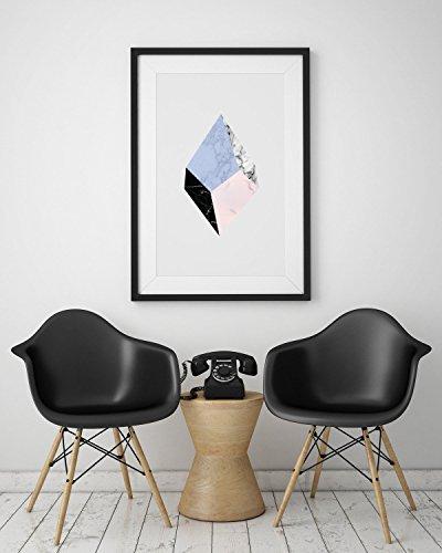 Marble Print, Minimalist print, Nordic Style, Office Decor Wall Art, Marble Artwork, Abstract Art