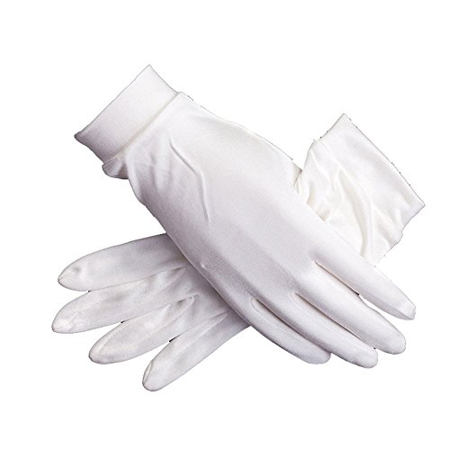 Women's 100% Pure Mulberry Silk Gloves Liner Glove Inner Ski Bike Cycle Gloves - Lightweight Silk Gloves
