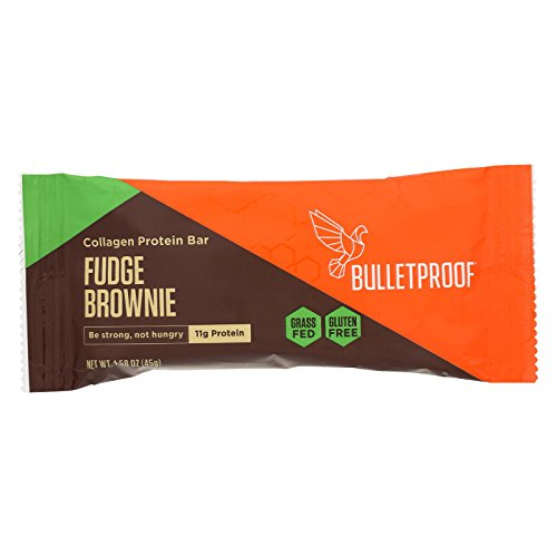 Bulletproof Protein Bar - Chocolate - Collagen - Case Of 12 - 1.58 Oz