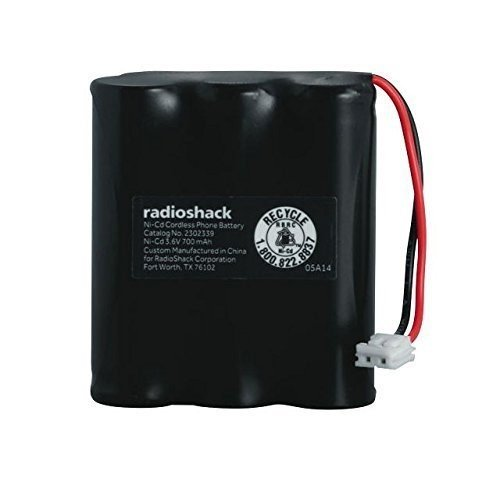 (RadioShack 3.6V/700mAh Ni-Cd Battery for AT&T & V-Tech)