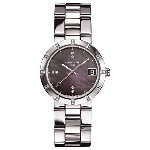 Certina - Wristwatch, Analog Quartz, Stainless Steel, Woman 5