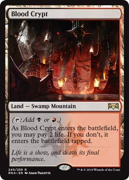 Magic: The Gathering - Blood Crypt - Foil - Ravnica ()