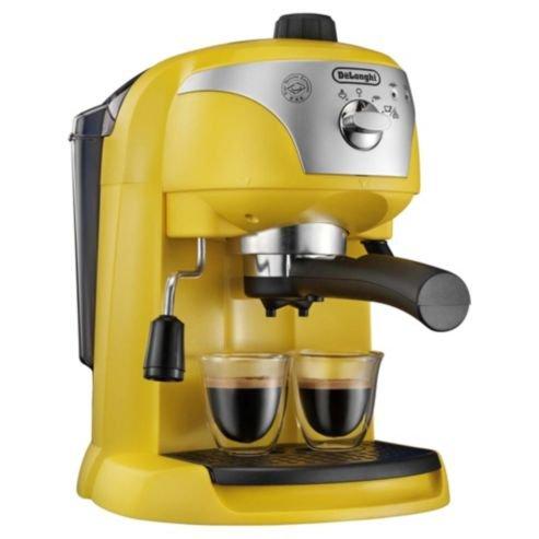 Delonghi 132151081 - Cafetera de espresso manual, color amarillo ...