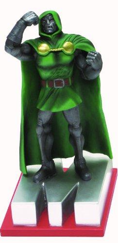 Doom Marvel Dr - Marvel Resin Figures - Dr Doom on Letter Base