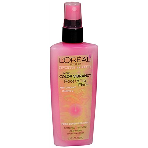 L'Oreal Paris Advanced Haircare Color Vibrancy Root to Tip Fixer, 3.4 ()
