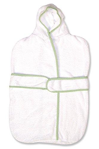 Trend Lab White Kimono Seersucker