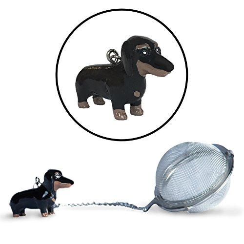 Dachshund Infuser Charm Stainless Strainers product image
