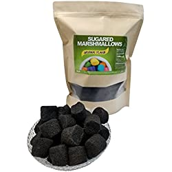 Sugared Marshmallows 2 Pounds (Black, 2 Pounds)