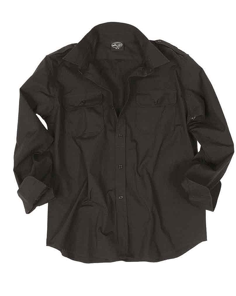 TALLA XXX-Large. Mil-Tec RipStop Camisa manga larga Oliva