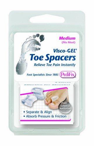 (Visco-Gel Toe Spacer (Medium, Pack of)
