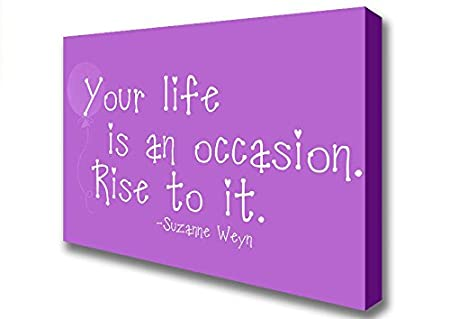 Living Colors Quotes Suzanne Weyn Your Life Is An Occasion Vivid
