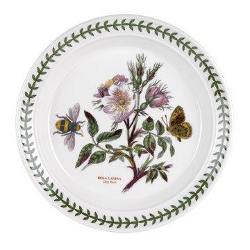(Botanical Garden Salad Plate Dog Rose)
