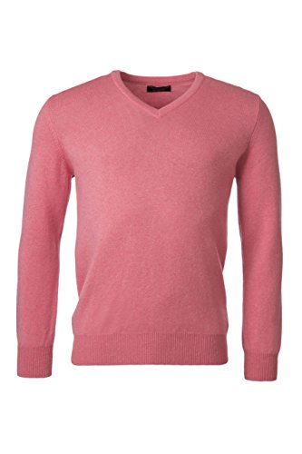 Great and British Knitwear Men's 100% Lambswool Plain V N...