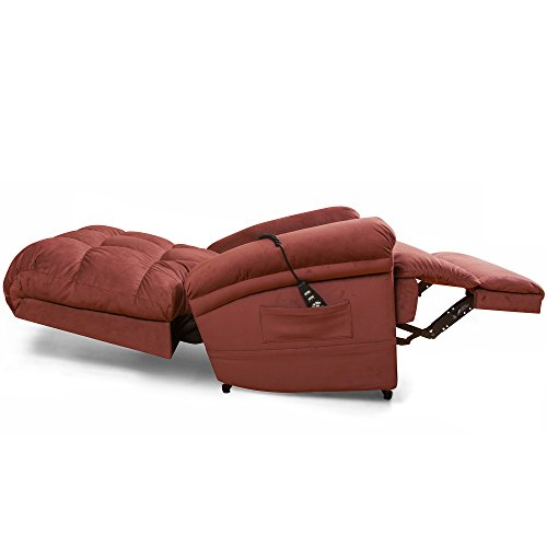 The Perfect Sleep Chair - Lift Chair & Medical Recliner - DuraLux II Microfiber - Burgundy