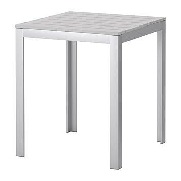 Ikea Falster Tisch Fur Aussen In Grau 63x63cm Amazon De Kuche