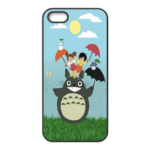 iPhone 5,5S Phone Case My Neighbor Totoro Promotion Get 1 iPhone 5,5S Tempered-Glass Screen Protector Free EF66011