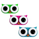 KIKKERLAND Owl Contact Lens Case, 1 EA