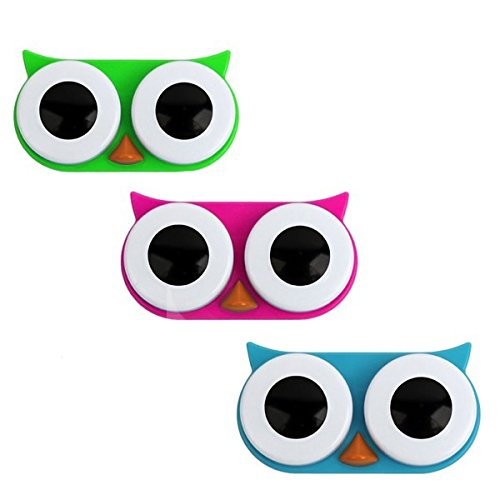 Owl Contact Lens Case Size 1ct Owl Contact Lens Case -