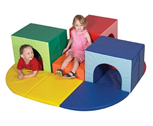 Children's Factory Triple Crawl Thru Climber